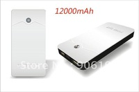 10PCS/LOT 12000mAh External Power Bank Special Portable Charger 2USB Ports Widely Use DHL EMS Free Shipping