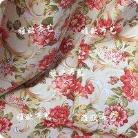 Canvas cloth / fabric sofa / cotton printing / slipcover / curtains / DIY manual NO.376