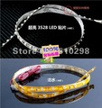 LED light Strip 5M 300leds wateproof warm white lolor 3528 60 SMD strip Low power consumption high brightness light source
