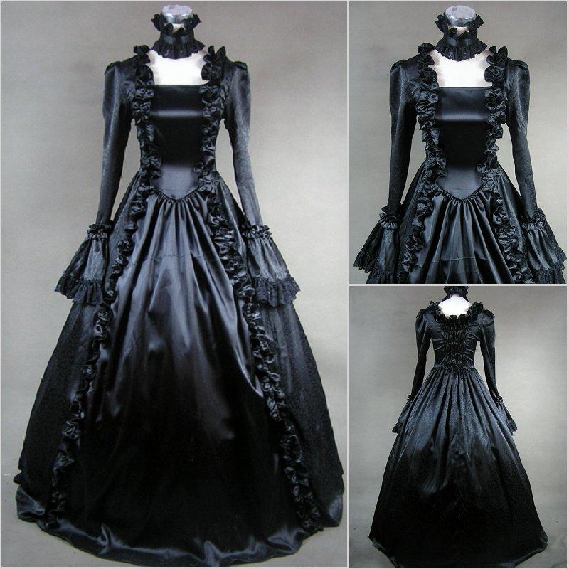 black victorian style dresses - photo #29
