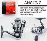 Genuine  SIENNA  2500FD Special Sea Fishing Road Fishing line Wheels Tackle 4 Bearings