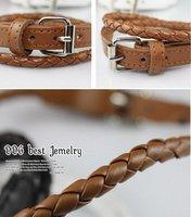 Free shipping   Wholesale 30pcs/lot leather buckle bracelet star jewelry fashion bracelet
