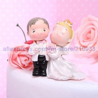 The Newlywed Wedding Cake Topper for Wedding Decoration Party Ceremony Supplies Free Shipping New Arrival