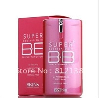 Hot !! Wholesale 12PCS/LOT triple efficacy BB cream/red barrel SUNCREEN SPF25 face repair BB cream40 ml