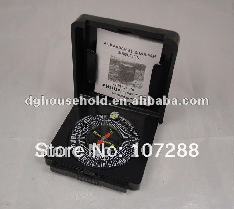 muslim prayer compass, qibla compass for travel, free shipping(China (Mainland))