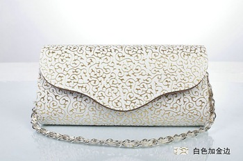 free shipping ladies' evening clutch handbags,party bags elegant bride handbag with fashionable chains 3 styles 1pcs