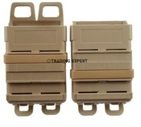 fast attach mag pouch MOLLE system (Tan)  free ship