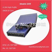 H 264 Mobile DVR for Bus