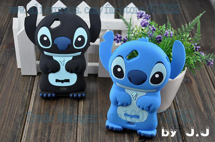 Free shipping new style lcute Soft Silicone stereo stitch cover case stogtill cell-phone case silicone skin case for X12(China (Mainland))