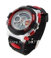 Newest Style Arsenal Football Club Men's Waterproof Sport Digital Watch (Red) free shipping