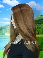Natural Long Straight Capless Synthetic Hair Wig (Free Shipping)