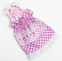 Factory outlet!fashion lace Pet Princess Dress,2012 new arrived summer dog clothes.Pet Products free shipping!10 pcs/lot