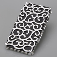 10X New Plating Artistic Palace Flower Case Cover for iPhone 4 4G 4S CM094