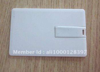 OEM credit card usb flash drive pendrive mixed color 4GB