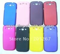 Plastic matt case back cover for Samsung Galaxy SIII I9300