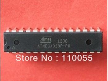 Integrated circuit ics Free Shipping 10pcs/lot ATMEGA328P ATMEGA328P-PU DIP-28