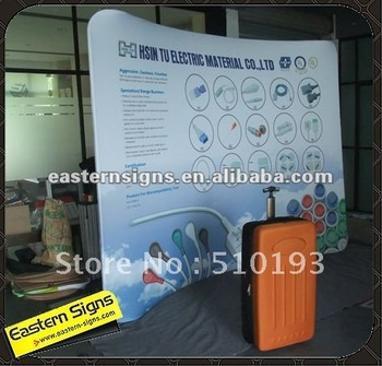10ft Wave Booth Exhibition Display