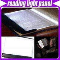 LED Reading Light Wedge Panel Book Light Paperback Night #1494
