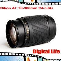 Nikon AF 70-300mm f/4-5.6G AF zoom lens nikon lens for D40/D40X/ D60/D5000/ D3000/ D3100/ D5100/D3200