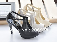 Women's Fish mouth High-heeled Sandals,lady Dress Banquet Shoes,Three color Can choose sandals.