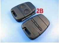 Land Rover Remote Key Shell 2 Button  Goood Quality Available For Wholesale