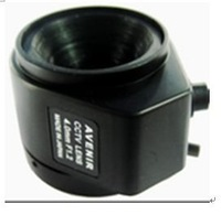 F02226 Fixed 4mm F1.2 Manual Focal Length automatic Aperture Lens For CCTV Camera + Free shipping