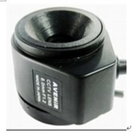 F02228 Fixed 8mm F1.2 Manual Focal Length automatic Aperture Lens For CCTV Camera + Free shipping