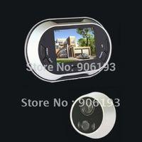 Hot sale +Digital Peephole Door Viewer + 3.5 Inch TFT LCD Screen+ door camera with door bell + free shipping