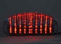 LED Motorcycle Tail Light Brake Light For GSX650F 08-09 / GS500F 03-05 / CBR1100XX 97-98 / SHADOW VLX/SPIRIT 1100 99-05