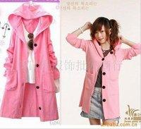 2012 Autumn&Winter women's sweet color patchwork casual medium-long sweater/women's turtle neck scarf sweater dress 55100