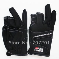 Promotion! Abu Garcia Fishing Gloves Anti Water Proof Fishing Stretch Gloves