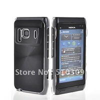 ALUMINUM METAL HARD PLASTIC PLATED CASE COVER FOR  N8 FREE SHIPPING