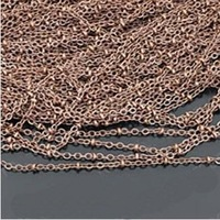 Fashion jewelry accessory 2.0MM metal chain for necklace 5 meters / pack free shipping