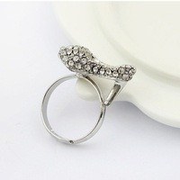 min order is 10usd  ( mix order )22E32 fasshion vintage Armor ring  jewelry ! Free shipping----Crystal shop