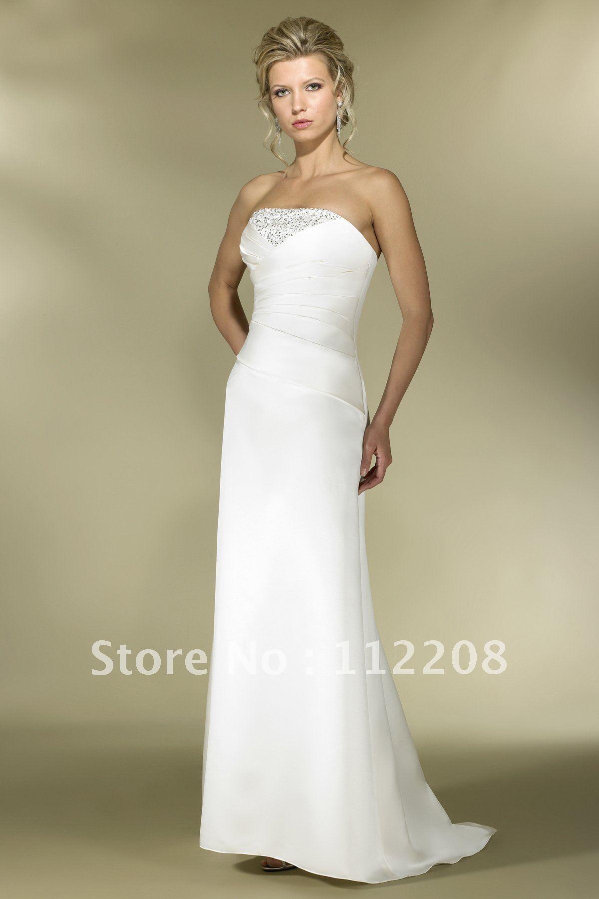 wedding dresses plain 99
