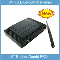 BT-Pusher FREE WiFi AP and bluetooth marketing COMBI device