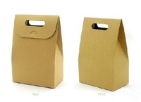 Wholesale Mini Kraft Packing Bag, Gift pack, Paper Bag 50pcs/lot Free shipping