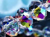 Free Shipping!! AAA Top Quality 12mm Crystal Half-AB (Aurore Boreale) Colour Crystal 5040 Rondelle Beads 216pcs/lot B1200451