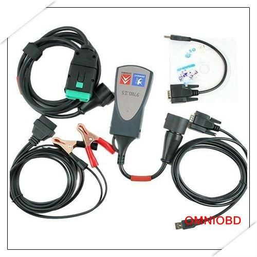 Diagnostic System PSA XS EVOLUTION Lexia 3 PPS 2000 Auto diagnostic tools(China (Mainland))