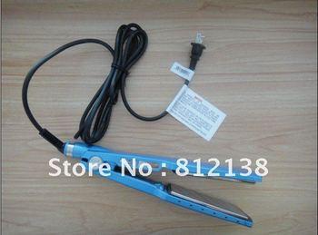 """freeshipping hair straightening 1 1/4"""" nano Titanium Hair Straightener,nano Titanium retail package"""