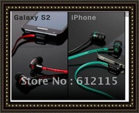 2012 new arrival SL49 high quality in-earphone 3clours(black,red,green),can mix order,3pcs/lot