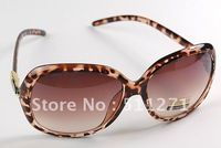 Free Shipping Crystal Frame UV Protection Sunglasses Lady Eyewear with Glasses Case JM025
