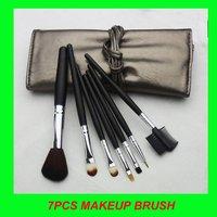 7 pcs  Makeup Brush sets, whole sale make up brushes kit+free shipping