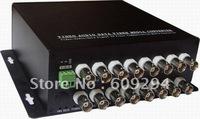 CCTV Video Optical Transceiver-16 Channels video optical digital converter( transmitter/receiver),Video Only