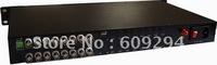 Fiber Optical Digital Video Converter  16Channels  1U 19'' Rack Mounted,16-CH FIBRE OPTICAL VIDEO