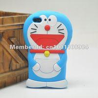10pcs/lot The Cat Doraemon shape  hard Case For iPhone 4G 4S, free shipping