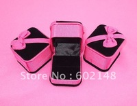 Hot selling 30pcs/lot free shipping wholesale jewelry case ring holder 5.5*5*4.5cm nice gift!