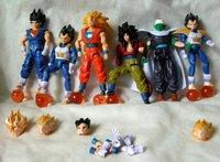 DBZ Dragonball Dragon Ball Z Figure movable joints 6pcs #B GOKU TRUNKS
