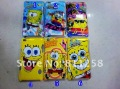 spongebob pattern Case For ipod touch 4, Mixed Order Hard back Case Cover for i-Touch 4+DHL Free Shipping