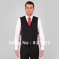 formal vest only!custom made vest for groom  wedding dress,2012 hot sale, free shipping